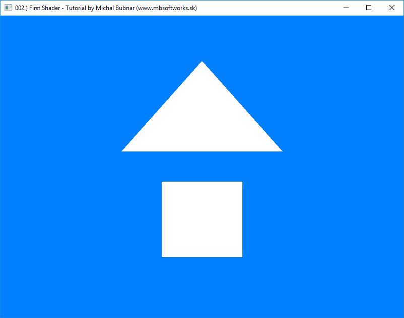 002 ) First Shader - OpenGL 4 - Tutorials - Megabyte Softworks