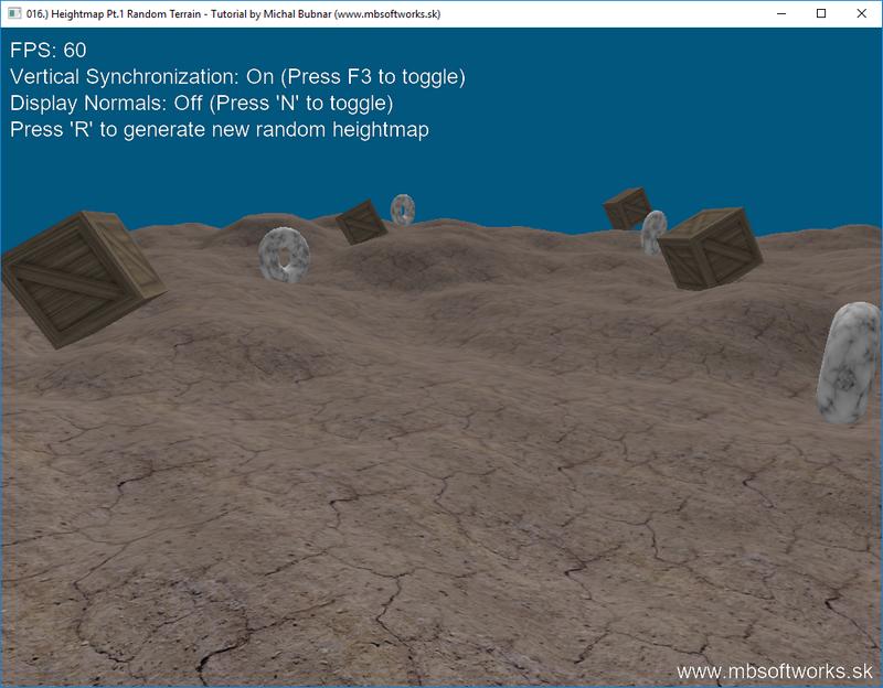 016 ) Heightmap Pt 1 - Random Terrain - OpenGL 4 - Tutorials